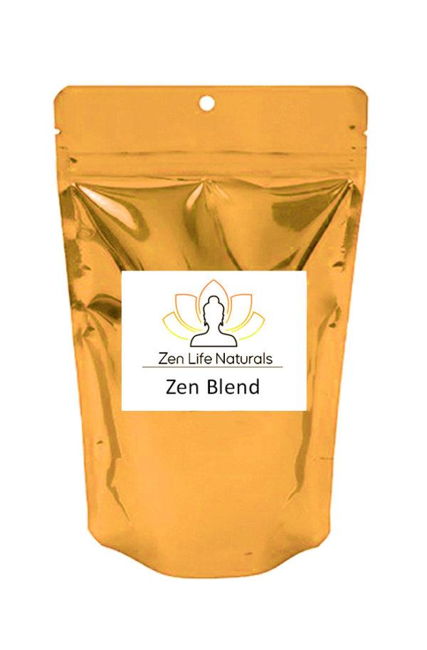 zen blend full spectrum kratom powder mix
