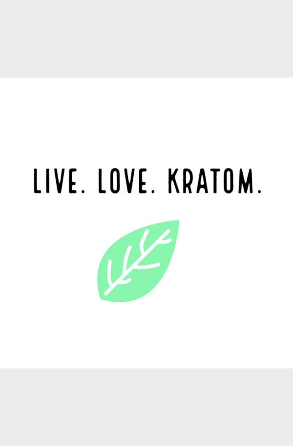 live.love.kratom sticker